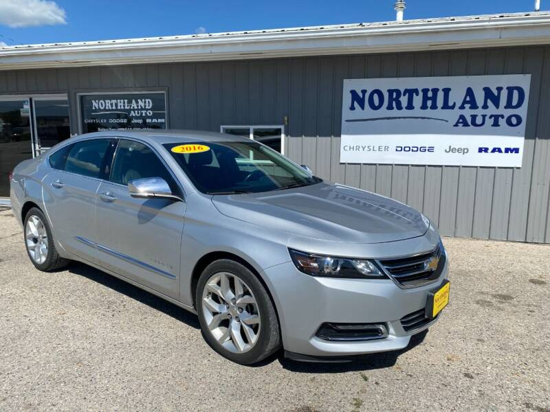 2016 Chevrolet Impala for sale at Northland Auto in Humboldt IA