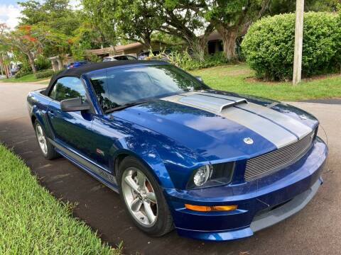 2008 Ford Mustang for sale at Car Girl 101 in Oakland Park FL