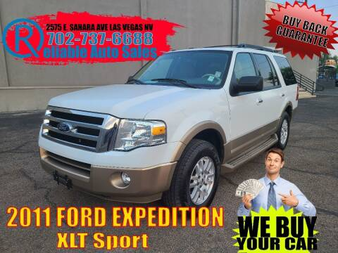 2011 Ford Expedition for sale at Reliable Auto Sales in Las Vegas NV
