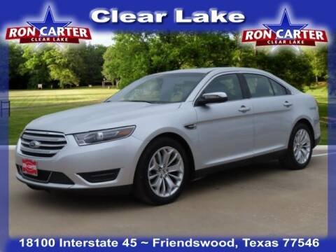 2019 Ford Taurus for sale at Ron Carter  Clear Lake Used Cars in Houston TX