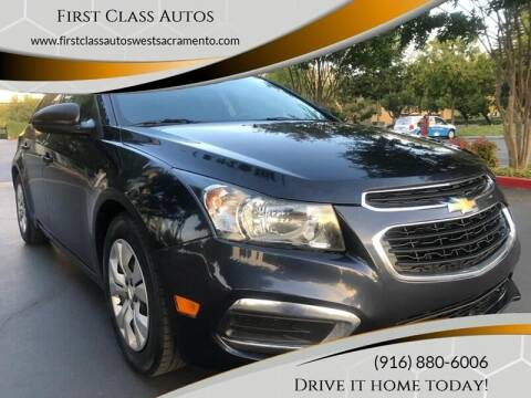 2015 Chevrolet Cruze for sale at Car Source Center in West Sacramento CA