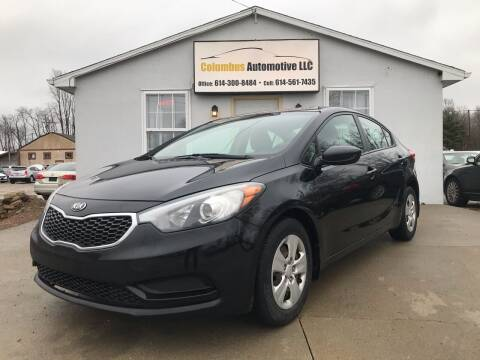 2014 Kia Forte for sale at COLUMBUS AUTOMOTIVE in Reynoldsburg OH