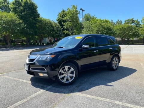 2011 Acura MDX for sale at Uniworld Auto Sales LLC. in Greensboro NC