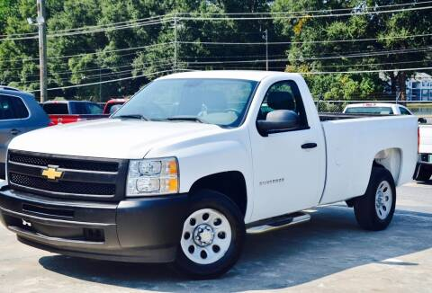 2012 Chevrolet Silverado 1500 for sale at Marietta Auto Mall Center in Marietta GA