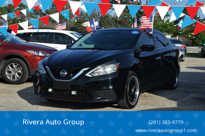 2017 Nissan Sentra for sale at Rivera Auto Group in Spring TX