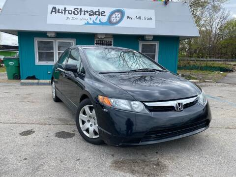 2008 Honda Civic for sale at Autostrade in Indianapolis IN