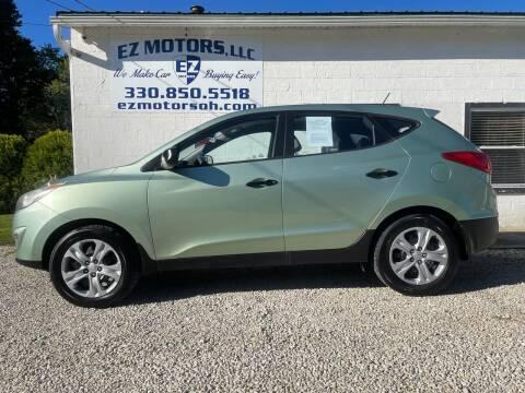 2010 Hyundai Tucson for sale at EZ Motors in Deerfield OH
