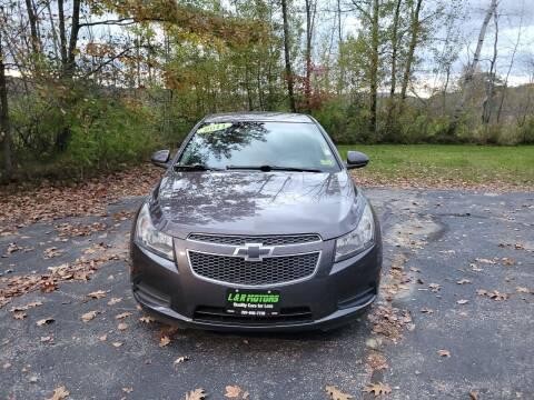 2011 Chevrolet Cruze for sale at L & R Motors in Greene ME
