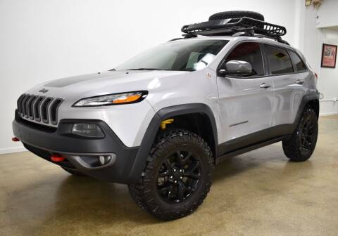 2017 Jeep Cherokee for sale at Thoroughbred Motors in Wellington FL