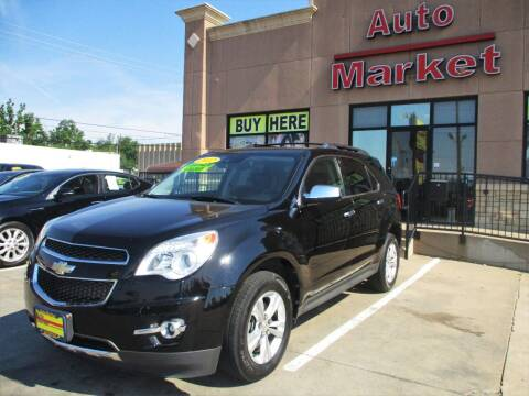 2012 Chevrolet Equinox for sale at Auto Market in Oklahoma City OK