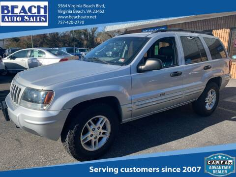 2005 Jeep Liberty for sale at Beach Auto Sales in Virginia Beach VA