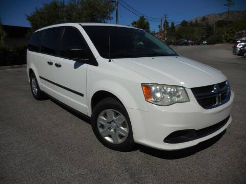 2011 Dodge Grand Caravan for sale at ARAX AUTO SALES in Tujunga CA