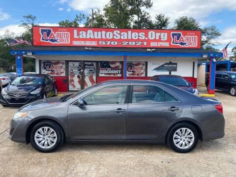2014 Toyota Camry for sale at LA Auto Sales in Monroe LA