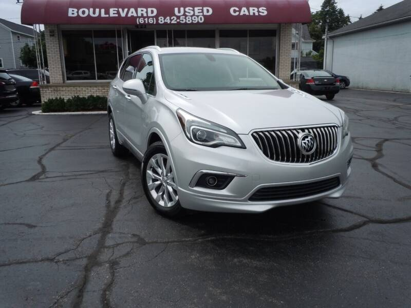 2018 Buick Envision for sale at Boulevard Used Cars in Grand Haven MI