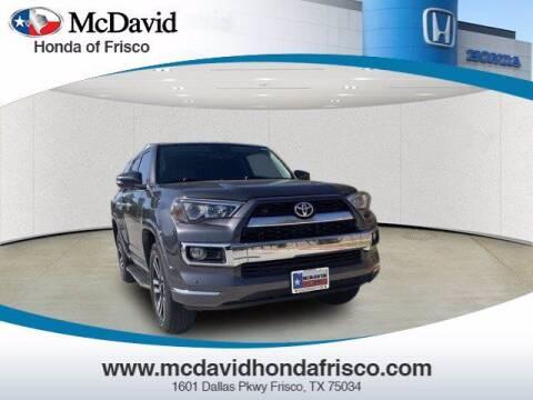 2018 Toyota 4Runner for sale at DAVID McDAVID HONDA OF IRVING in Irving TX