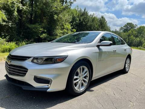 2016 Chevrolet Malibu for sale at Carrera AutoHaus Inc in Clayton NC