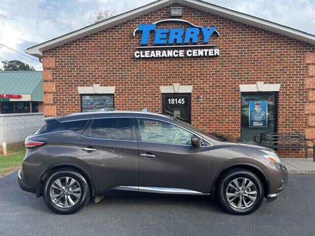 2016 Nissan Murano for sale at Terry Clearance Center in Lynchburg VA