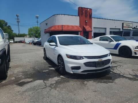 2018 Chevrolet Malibu for sale at Best Buy Wheels in Virginia Beach VA