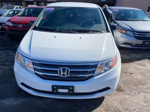 2013 Honda Odyssey for sale at NORTH CHICAGO MOTORS INC in North Chicago IL