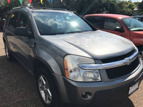 2005 Chevrolet Equinox for sale at BARNES AUTO SALES in Mandan ND