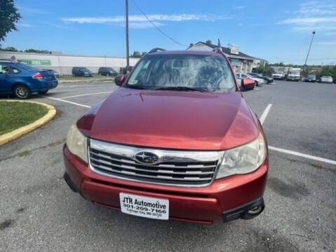 2010 Subaru Forester for sale at JTR Automotive Group in Cottage City MD