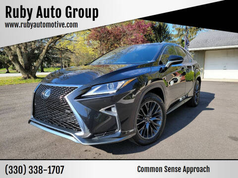 2016 Lexus RX 350 for sale at Ruby Auto Group in Hudson OH