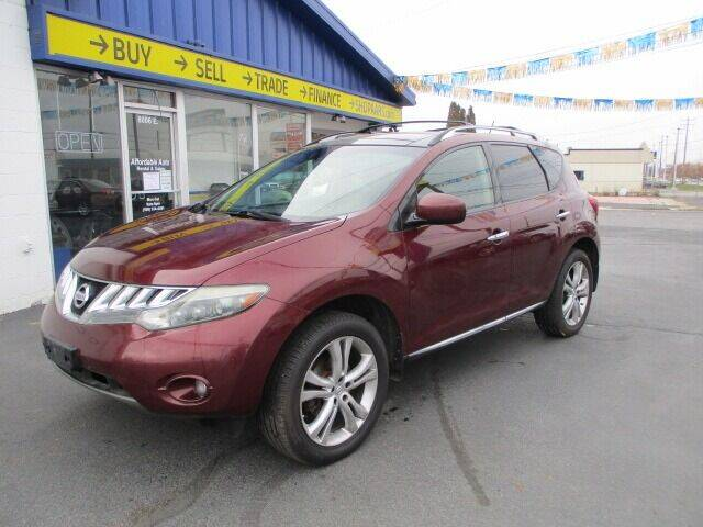 2009 Nissan Murano for sale at Affordable Auto Rental & Sales in Spokane Valley WA