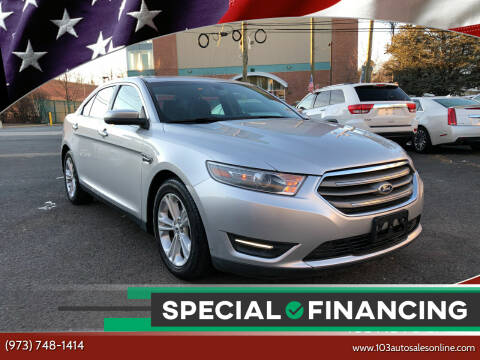 2014 Ford Taurus for sale at 103 Auto Sales in Bloomfield NJ
