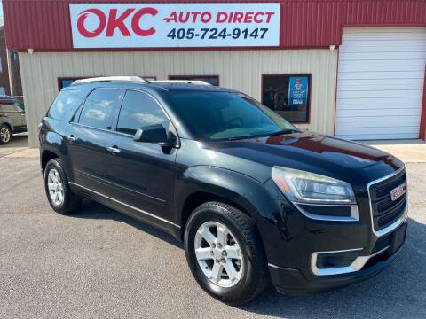 2013 GMC Acadia for sale at OKC Auto Direct in Oklahoma City OK
