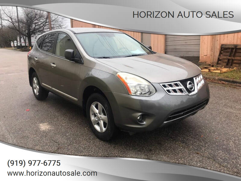 2012 Nissan Rogue for sale at Horizon Auto Sales in Raleigh NC
