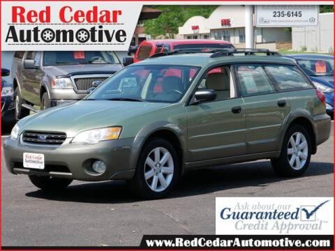 2007 Subaru Outback for sale at Red Cedar Automotive in Menomonie WI