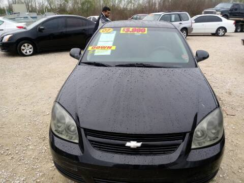 2007 Chevrolet Cobalt for sale at Finish Line Auto LLC in Luling LA