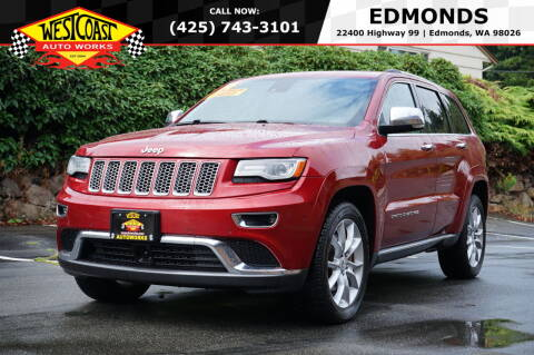 2014 Jeep Grand Cherokee for sale at West Coast Auto Works in Edmonds WA