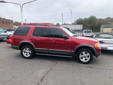 2003 Ford Explorer for sale at LINDER'S AUTO SALES in Gastonia NC