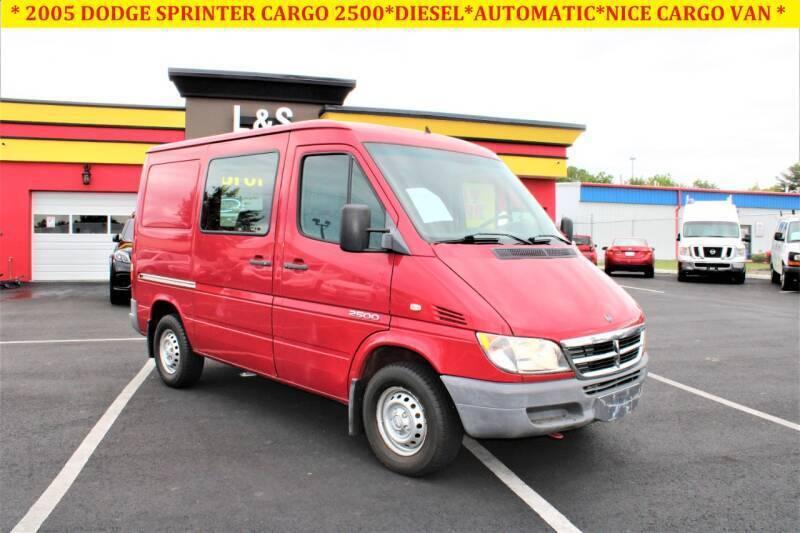 2005 Dodge Sprinter Cargo for sale at L & S AUTO BROKERS in Fredericksburg VA