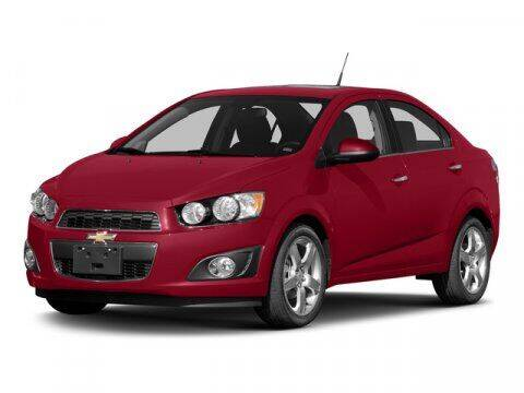 2015 Chevrolet Sonic for sale at Scott Evans Nissan in Carrollton GA