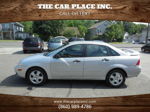 2007 Ford Focus for sale at THE CAR PLACE INC. in Somersville CT