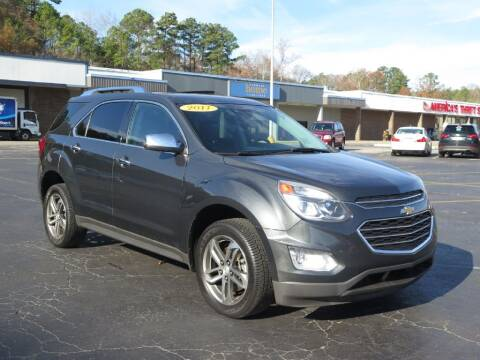 2017 Chevrolet Equinox for sale at Discount Auto Sales in Pell City AL