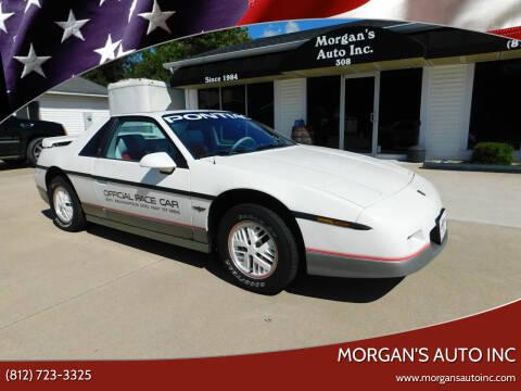 1984 Pontiac Fiero for sale at Morgan's Auto Inc in Paoli IN