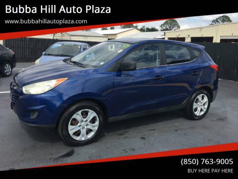 2010 Hyundai Tucson for sale at Bubba Hill Auto Plaza in Panama City FL