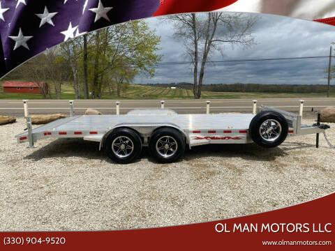 2021 WOLVERINE 7X18 10K CAR/EQUIPMENT for sale at Ol Man Motors LLC in Louisville OH
