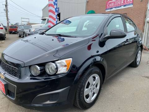 2016 Chevrolet Sonic for sale at Carlider USA in Everett MA