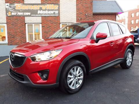 2015 Mazda CX-5 for sale at Somerville Motors in Somerville MA