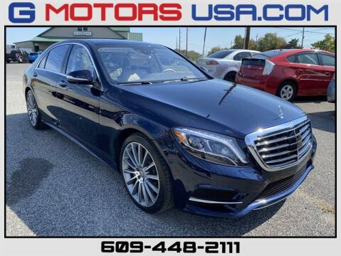 2016 Mercedes-Benz S-Class for sale at G Motors in Monroe NJ