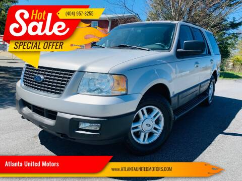 2006 Ford Expedition for sale at Atlanta United Motors in Buford GA