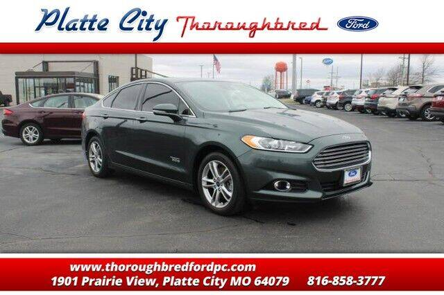 2016 Ford Fusion Energi for sale in Platte City, MO