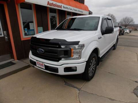 2018 Ford F-150 for sale at Autoland in Cedar Rapids IA