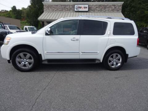 2012 Nissan Armada for sale at Driven Pre-Owned in Lenoir NC