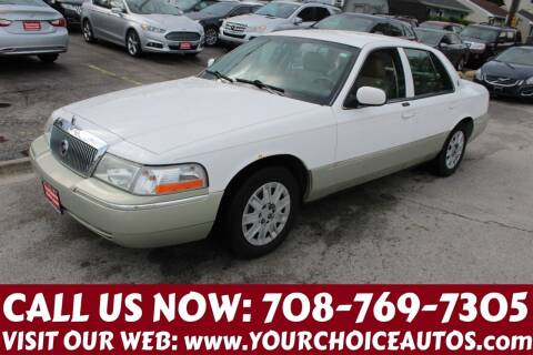 2004 Mercury Grand Marquis for sale at Your Choice Autos in Posen IL