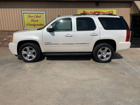 2013 GMC Yukon for sale at BIG 'S' AUTO & TRACTOR SALES in Blanchard OK